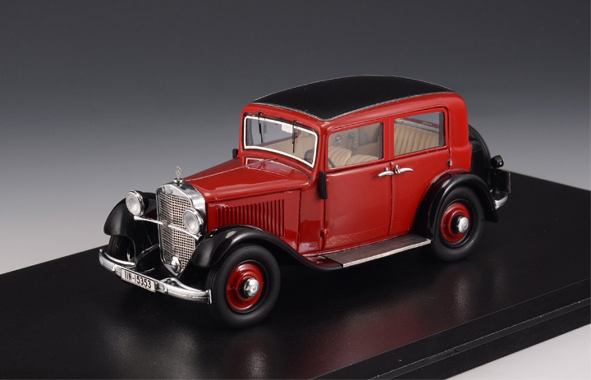 Modell 1:43 Mercedes-Benz170 W15 Limousine 1935 rot GLM207201