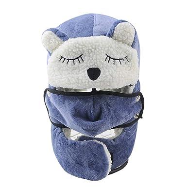 Amazon com: MOCOFO Winter Hats Kids Nylon Winter Earflap Cap