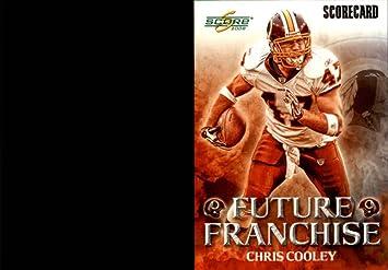 2008 Score Future Franchise Scorecard 18 Chris Cooley 999