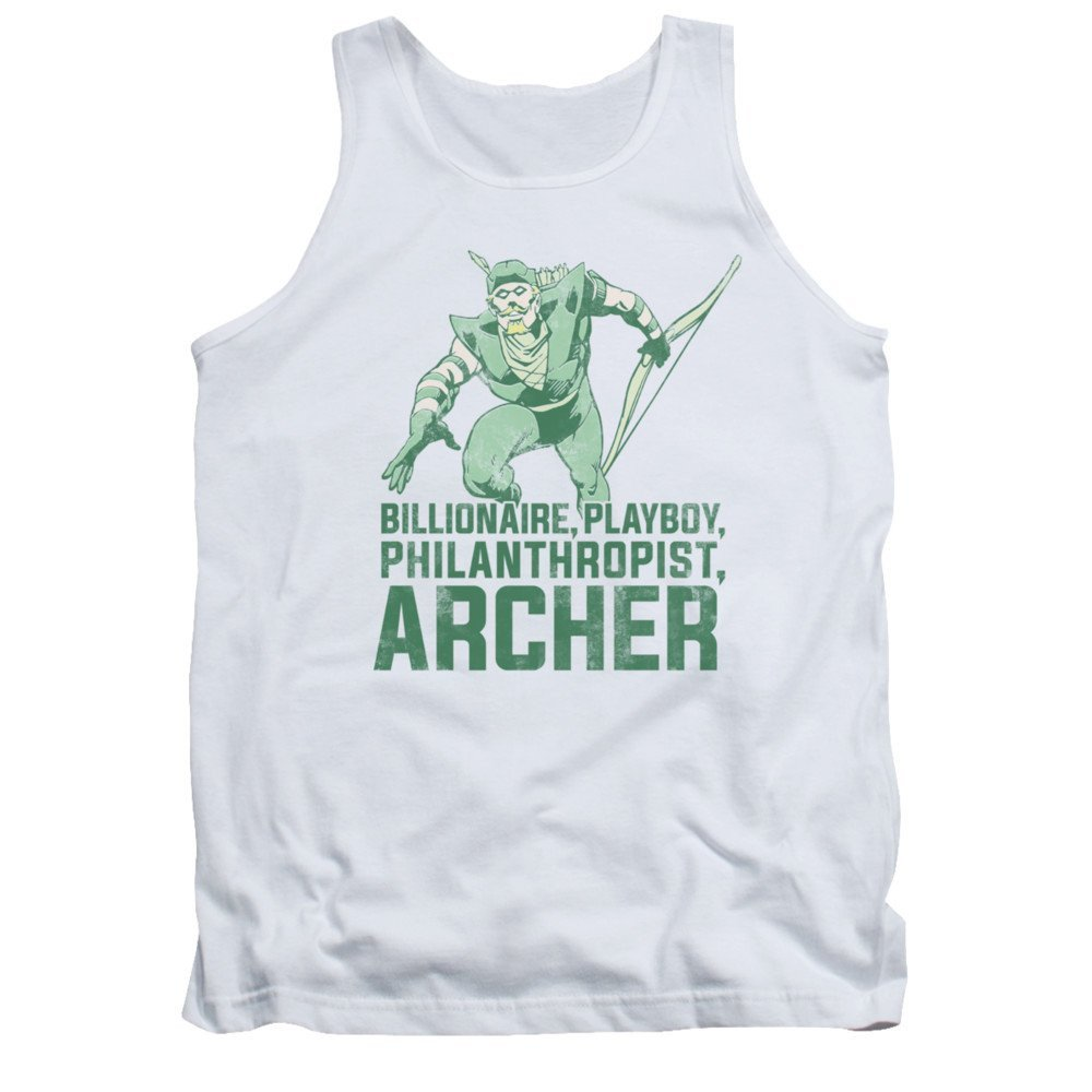 Dc Comics Archer Adult Tank Top
