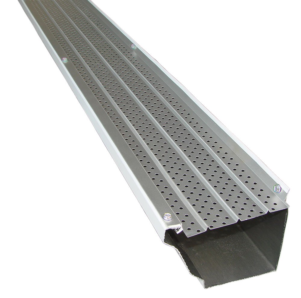 FlexxPoint 30 Year Gutter Cover System, Residential 5'' Gutter Guards, 102ft by FLEXXPOINT