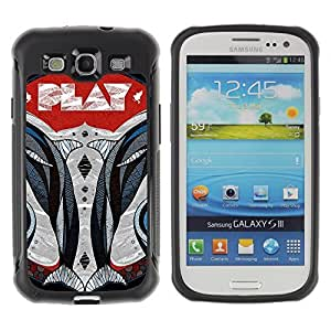 Hybrid Anti-Shock Defend Case for Samsung Galaxy S3 / Play wangjiang maoyi