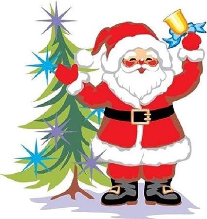 30 Custom Christmas Santa Art Personalized Address Labels