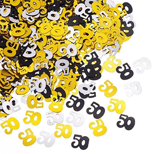 50th Birthday Confetti - 9