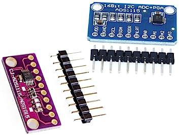 ADS1115 4-Channel I2C 16-Bit A/D-Converter Module Arduino Raspberry STM32