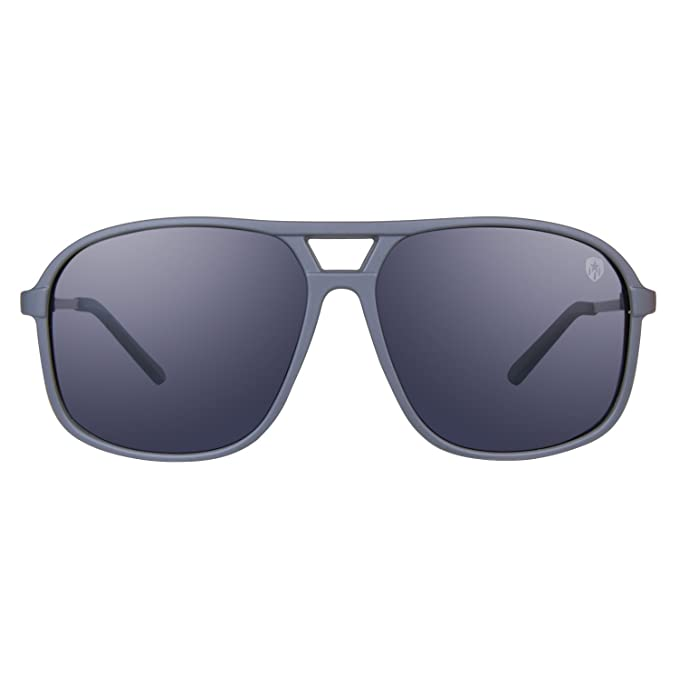 40d4ff96bb Image Unavailable. Image not available for. Colour  Tom Martin Polarized UV  Protected Men s Rectangular Sunglasses ...