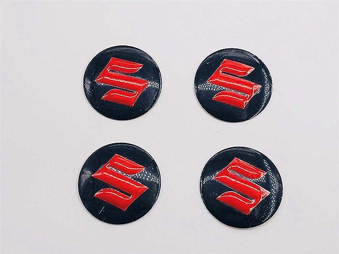 888 Ein Set Mit 4 X 56 Mm Logo Aufklebern Für Radnabenabdeckung Für Suzuki Auto