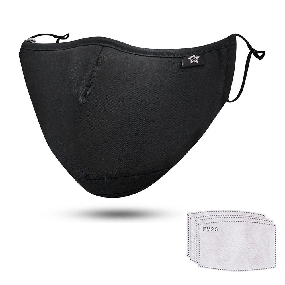 最新のデザイン springseaon n95ダストマスク、洗濯、再利用可能なクリーニングガーデニングマスク springseaon、アレルゲン、排気ガス ブラック、pm2.5、ランニング、サイクリング、アウトドア活動の防風マスク B07BVNWN2Z ブラック, 照明器具のコンコルディア:9420d924 --- podolsk.rev-pro.ru