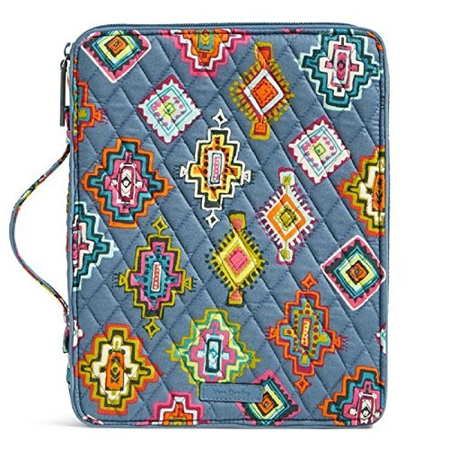 - Vera Bradley Tablet Tamer Organizer in Painted Medallions Signature Cotton