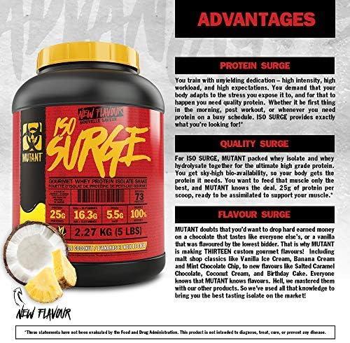 Mutant Mutant Iso Surge Coconut Cream - 727 gr