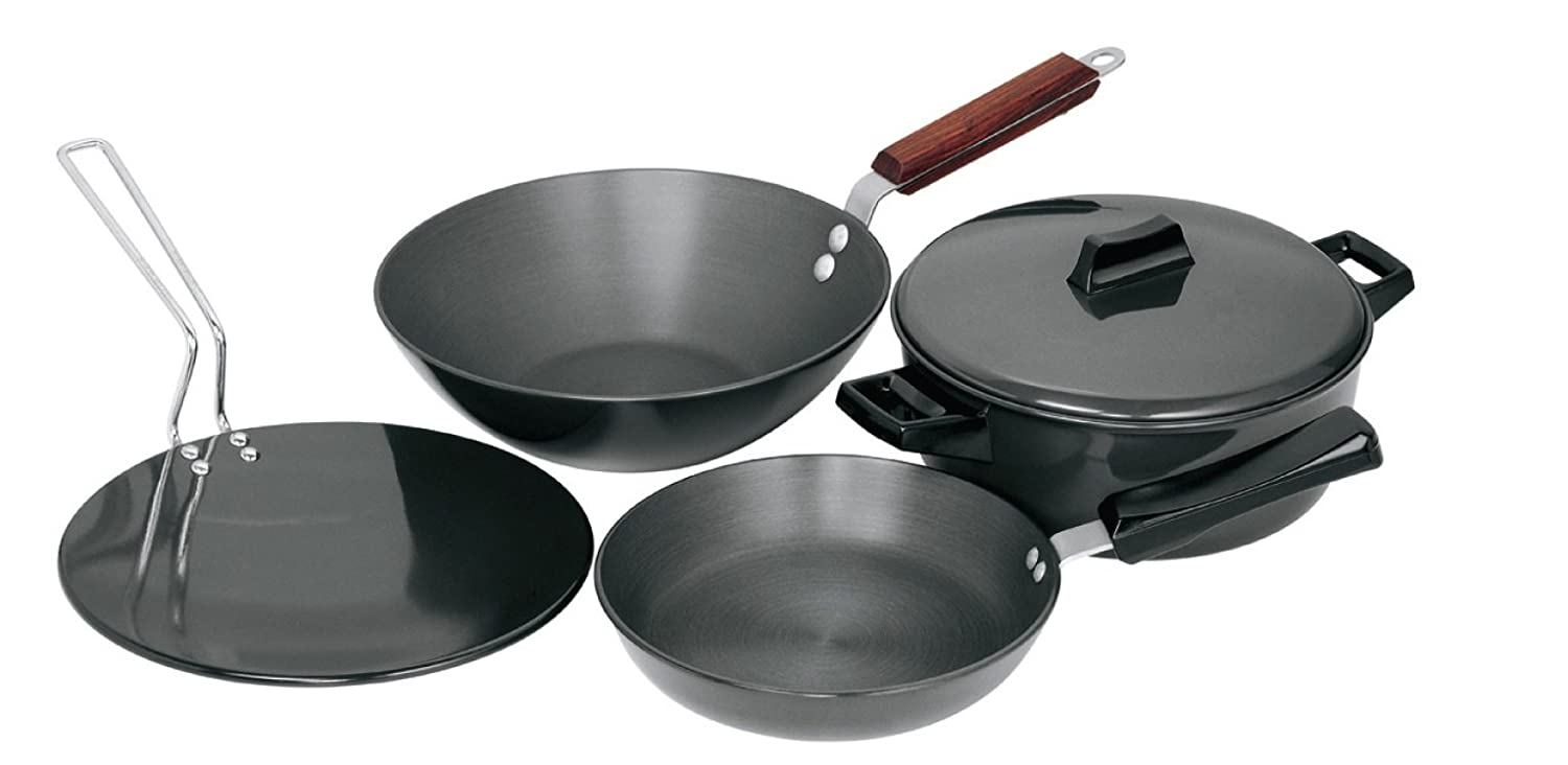 Hawkins Futura Hard Anodised Cookware Set