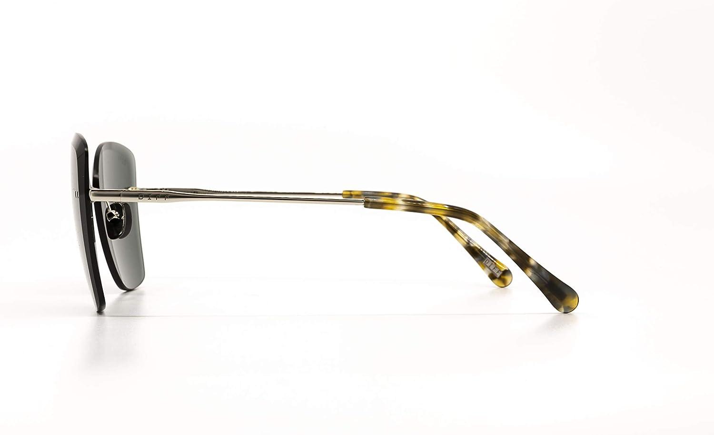 DIFF Eyewear Women's Willow Silver W/Sea Tortoise Tips G15 Lens ...