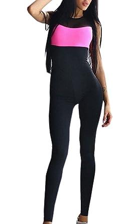 ymyy kleider sport yoga trainingsanzug overalls jumpsuit playsuits damen freizeithose yoga jogging anzug  bekleidung damen jumpsuit c 1_9 #12
