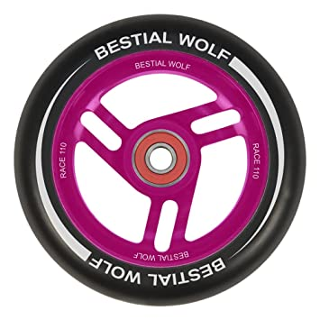 Bestial Wolf Rueda Race para Scooter Freestyle, Diámetro 110 mm