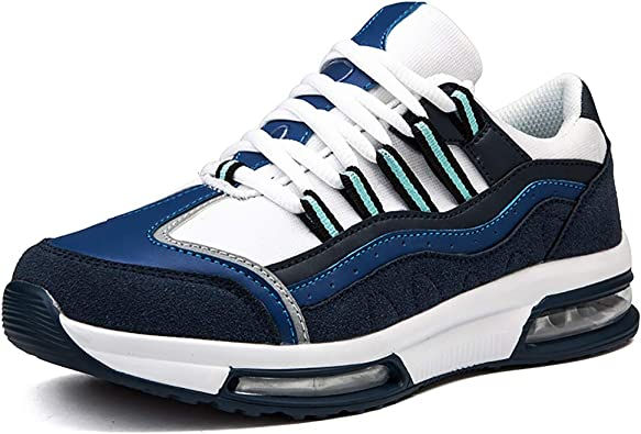 Zapatos para Correr Deportes en Montaña Asfalto, Zapatillas de Running Deportivos para Hombre Unisex, Dos Cojines de Aire: Amazon.es: Zapatos y complementos