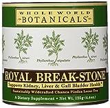 WHOLE WORLD BOTANICALS Royal Break-Stone Tea 125G, 125 GR For Sale