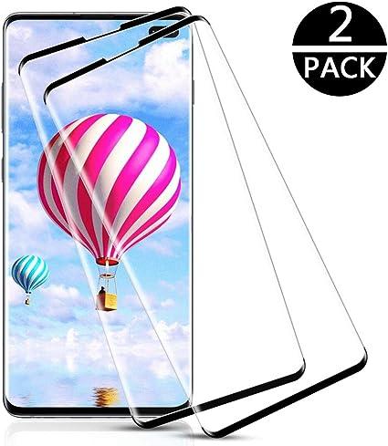 Sin Burbujas 2 Piezas Cobertura Completa Cristal Templado para Samsung Galaxy S10 Plus 9H Dureza Anti-Ara/ñazos Alta Definicion IRROT Protector de Pantalla para Samsung Galaxy S10 Plus,