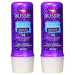 Aussie Moist 3 Minute Miracle Deeeeep Conditioner - 2 Count (8.0 fl oz each)