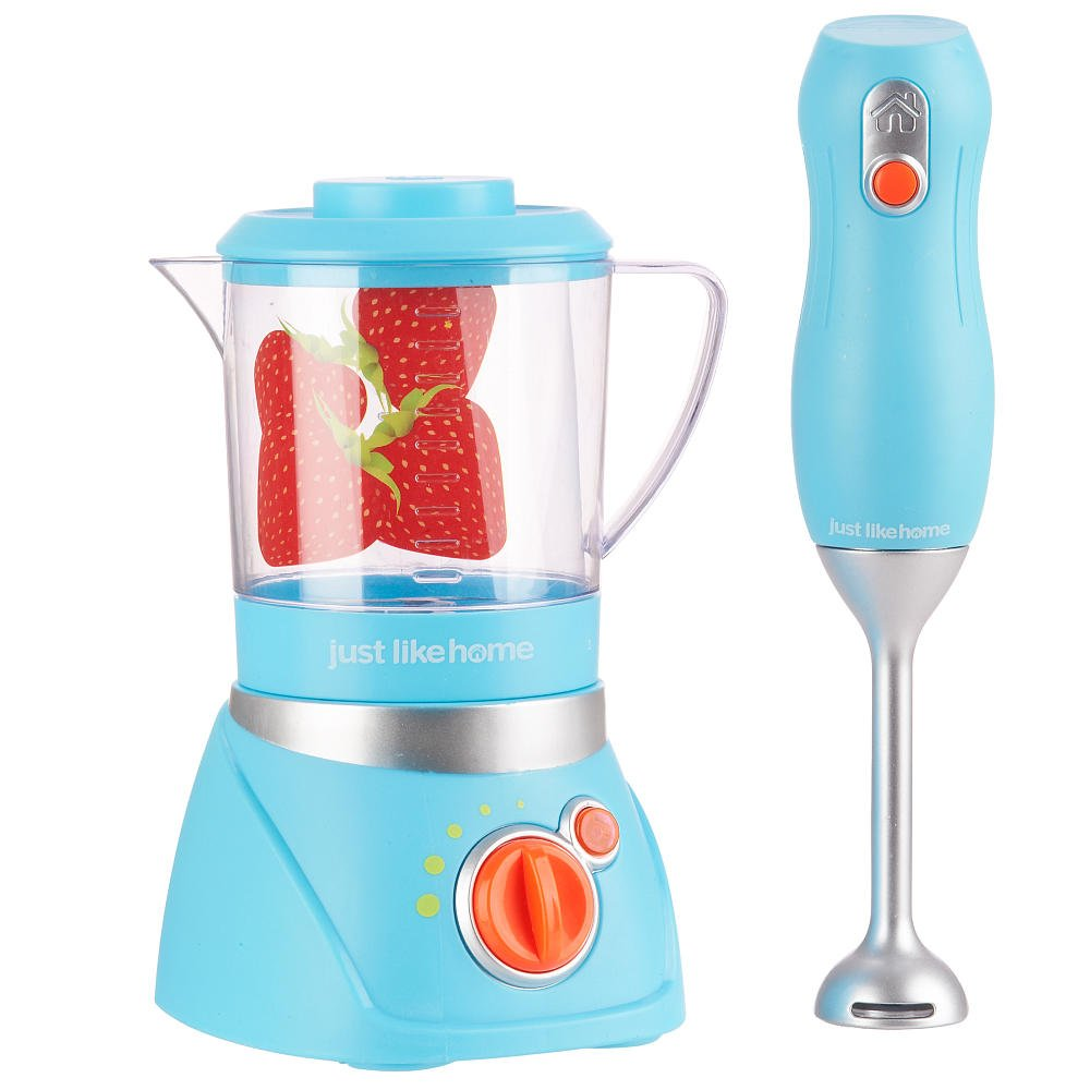 Amazon.com: Just Like Home Blender Set - Blue: Toys & Games