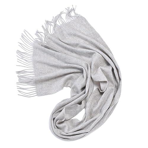 Bufanda Chal Moda Mujeres YR0256 Pareja y Elegante 38cm*200cm,GJDE , superficial grey , 38cm*200cm