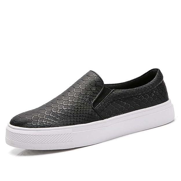 Zapatos de Mujer Primavera Nuevos Zapatos de Moda Zapatos Perezosos Trend Zapatos Blancos Cómodo Carrefour Zapatos Casuales: Amazon.es: Zapatos y ...