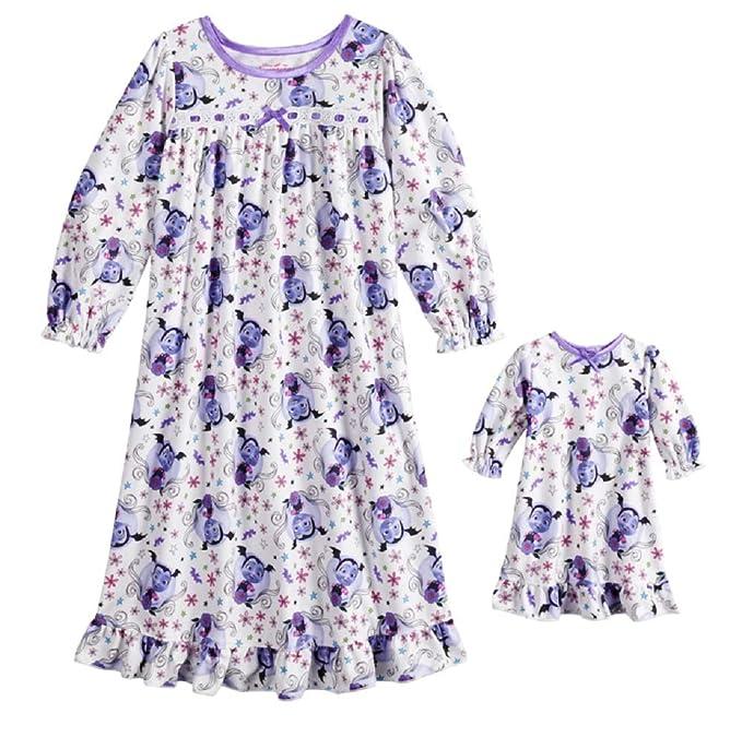 9860ddc27 Amazon.com: Disney Vampirina Nightgown and Doll Nightgown: Clothing
