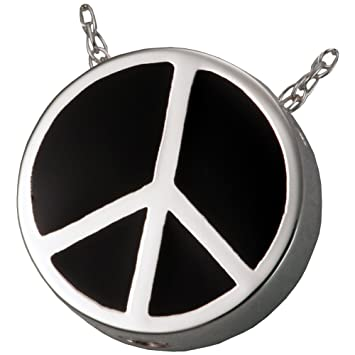 Cremation Jewelry Sterling Silver Peaceful Heart Memorial Gallery