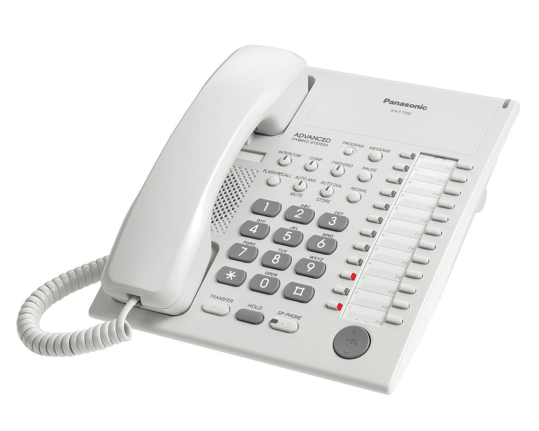 Panasonic KX-T7720 Panasonic Speakerphone WHITE
