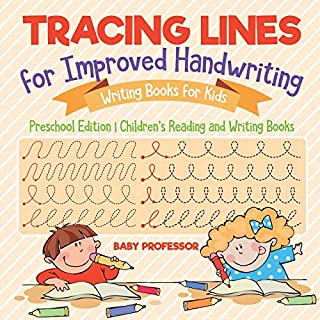 Tracing Lines for Improved Handwriting - Writing Books for Kids - Preschool Edition | Children's Reading and Writing Books