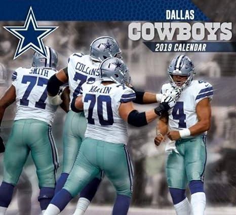 Amazon Gifts Dallas Cowboys 2019 Wall Calendar 12 X 12