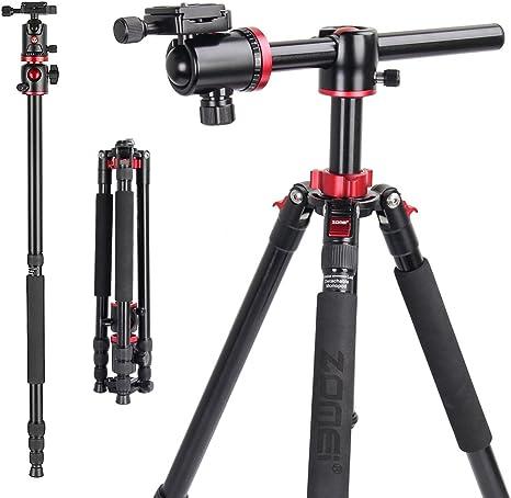 ZOMEI - Trípode de cámara portátil de 72 pulgadas, monopié de ...