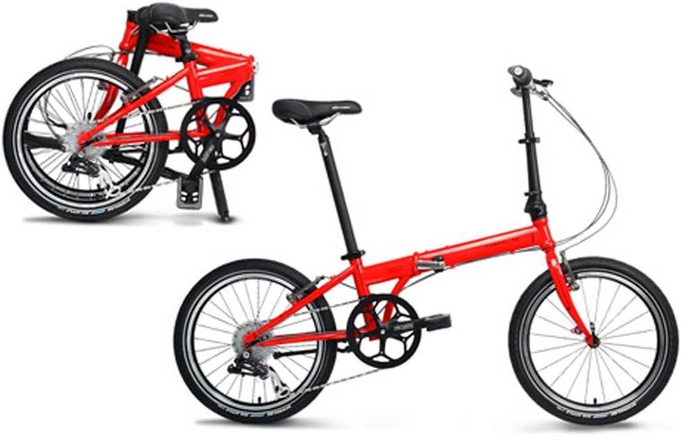 Dahon Speed P8 fuego bicicleta plegable 8 Velocidad: Amazon.es ...
