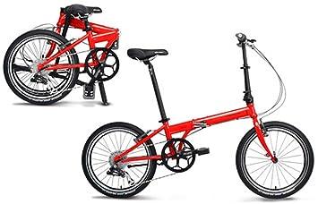 Dahon Speed P8 fuego bicicleta plegable 8 Velocidad