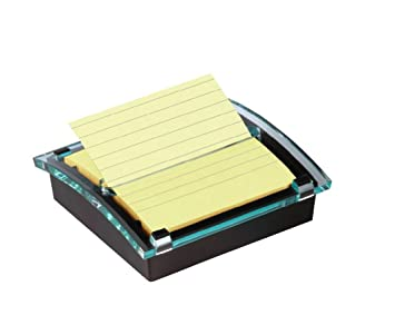 Post-it DS440-SSCYL - Dispensador Millenium, color negro y 1 bloc Z