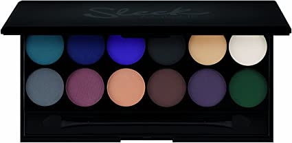 Maquillaje Sleek i-Divine paleta de sombra de ojos Ultramatte V2 con espejo 13.2 g, Paquete 1er (1 x 13 g): Amazon.es: Belleza
