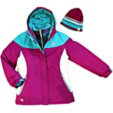 5cb5139e1dd Amazon.com: Gerry Girls' 3-In-1 Systems Jacket (X-Small, Crystal ...