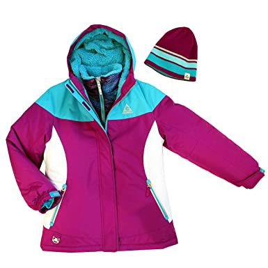 1d86f4b69d6d Amazon.com  Gerry Girls 3-In-1 Systems All Weather Jacket With ...