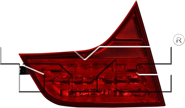 TYC 17-5245-01-1 Compatible with HONDA Civic Replacement Reflex Reflector