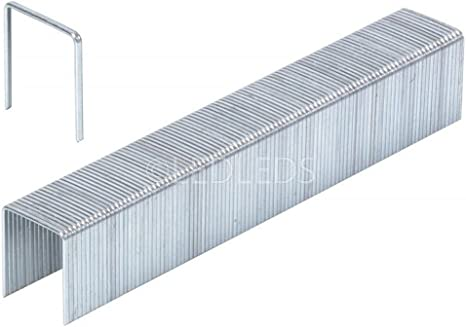 Grapas metálicas para grapadora neumática de aire comprimido 12, 5000 unidades: Amazon.es: Bricolaje y herramientas