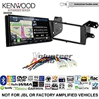 Volunteer Audio Kenwood Excelon DNX994S Double Din Radio Install Kit with GPS Navigation Apple CarPlay Android Auto Fits 2012-2015 Non Amplified Toyota Prius C