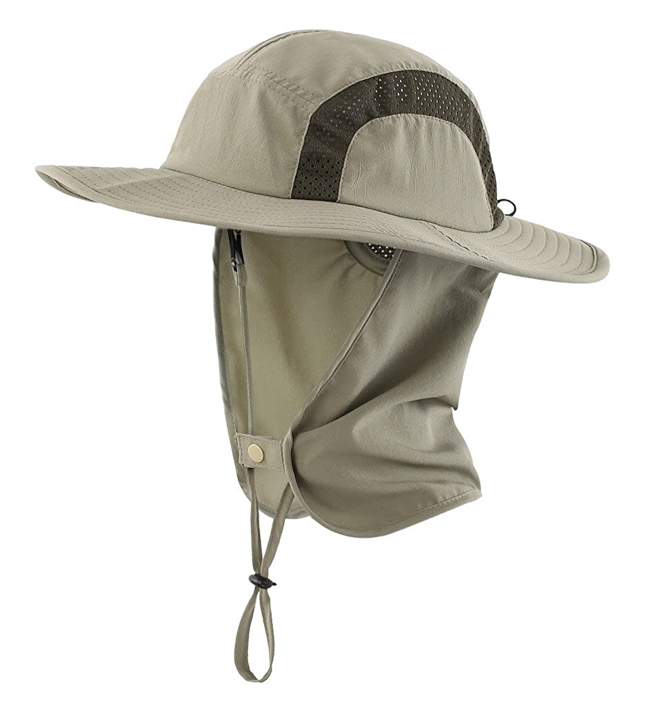 c555c4806 Home Prefer Kids Safari Hat UPF 50+ Sun Protective Cap Boys Bucket Hat with  Flap