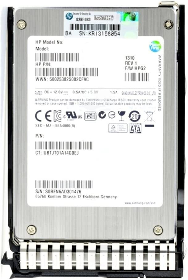 718137-001 HP 240GB 2.5 SATA 6Gb//s SC Enterprise Value MLC Solid State Drive