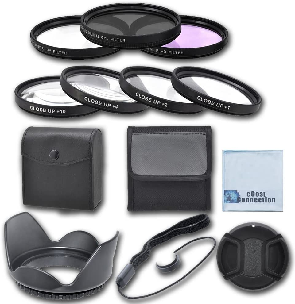 67mm High resolution Pro series Multi Coated HD 3 Pc 67mm Pro Series 4pc HD Macro Close Up Filter Set +1 +2 +4 +10 Snap On Lens Cap For Nikon AF-S NIKKOR 85mm f//1.8G Lens Digital Filter Set Universal Lens Cap Keeper Hard Tulip Lens Hood AF-S VR Z