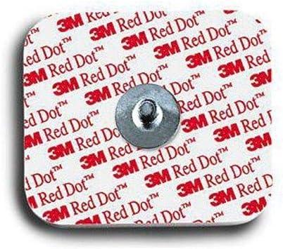 Electrodo 3M Red Dot 2560 – Caja de 1000 electrodos ECG – Adulto: Amazon.es: Salud y cuidado personal