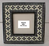 PRINTED PICTURE FRAME WITH WOODEN BORDER