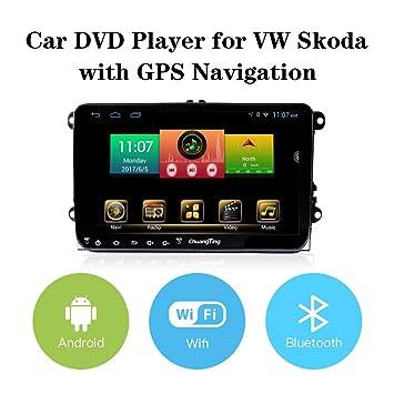 morovan coche reproductor de DVD 9 pulgadas coche navegación/GPS para VW/Volkswagen: Amazon.es: Electrónica