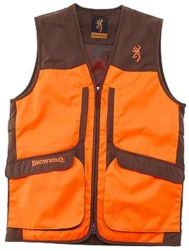Chaleco de caza Browning Hunter Upland Visibilty, color naranja naranja Talla:3XL: Amazon.es: Deportes y aire libre