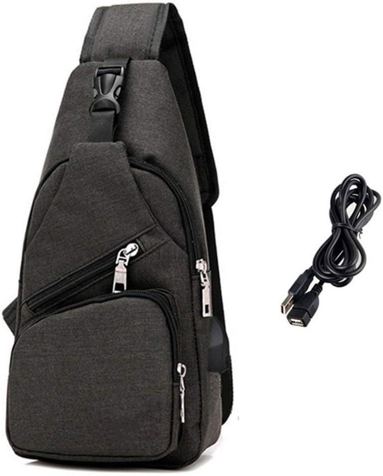 BXYIZU Sling Bag Shoulder Crossbody Chest Bags Lightweight Outdoor Sport Travel Backpack Daypack for Men Women