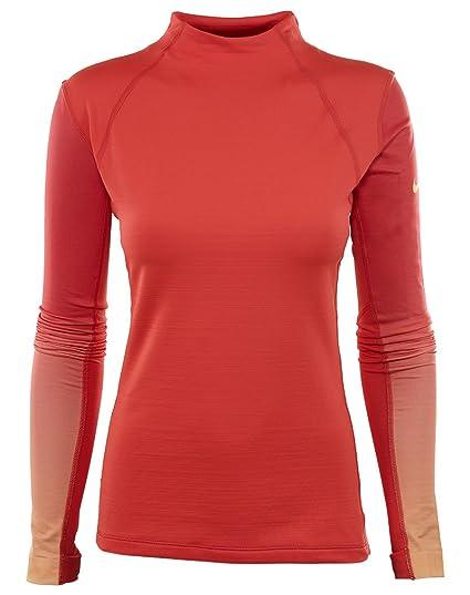 d8673f20 Nike Women's Pro Hyperwarm Top at Amazon Women's Clothing store: