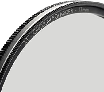 86mm X1 Circular Polarizer, MRC8, Ultra-Slim, Weather Sealed + Free Mircofiber Lens Cloth